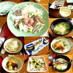 旅/熊本/天草/旅館 以前、熊本・天草の旅館で食べたごはんです…