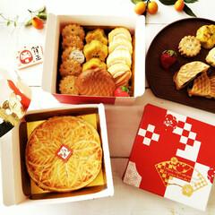 冬/お菓子のおせち/手作り/クッキー/たい焼き/ガレットデロワ お正月と言えばおせち。 年末には息抜きに…