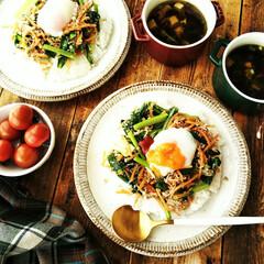 ビビンバ/春のフォト投稿キャンペーン/キット/わたしのごはん お昼御飯に、キットを使って作った、野菜そ…
