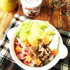 柚子/鍋/スープ 創味シャンタンDXと、庭の柚子で爽やかな…