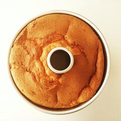 シフォンケーキ/バニラ/ミルク お茶のお供に、バニラビーンズをたっぷり混…