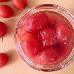 ミニトマト/はちみつ/コンポート アイコトマトのはちみつコンポート。 その…