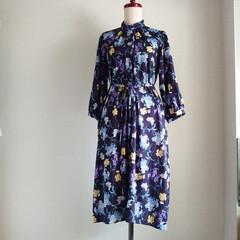 横浜縫製/カゴショルダーバッグ/横浜/ファッションアイディア/ファッション/150cmコーデ/... 浴衣に負けないインパクトのある花柄のシャ…(2枚目)