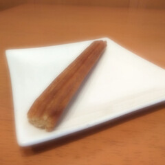 簡単/冷凍食品/チュロス 冷凍食品なのでトーストで焼くだけなので …