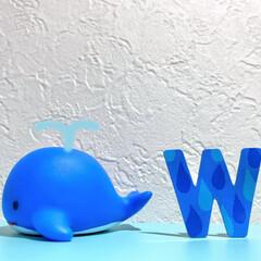 くじら/お風呂/whale/おもちゃ/動物/グッズ/... 我が家のちびっ子が、お風呂で遊んでいるお…