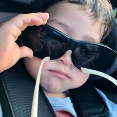 はじめて投稿したよ/サングラス/ドライブ 普段はメガネをかけているのですが、車を運…