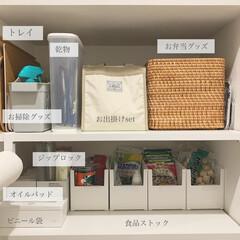 無印良品/パントリー収納/パントリー/カインズホーム/キッチン/収納 我が家のパントリー収納