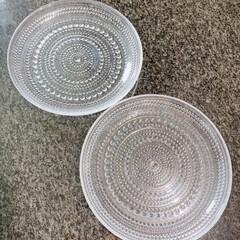 イッタラ プレート クリア 17cm カステヘルミ 6411920009457 | イッタラ(皿)を使ったクチコミ「お気に入り食器    イッタラカステヘル…」