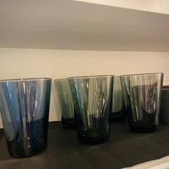 イッタラ カルティオ レイン 951201 タンブラー 210ml 2個入り | イッタラ(コップ、グラス)を使ったクチコミ「イッタラカルティオ    レインカラーと…」(1枚目)