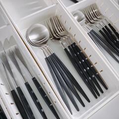 クチポール GOA ディナー フォーク スプーン セット | クチポール(その他キッチン、日用品、文具)を使ったクチコミ「クチポール    こちらはずっと欲しくて…」