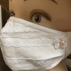 夏ファッション ハンドメイドファッションマスクかば…(7枚目)