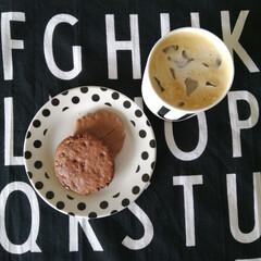おやつ/ステラおばさんのクッキー/ステラおばさん/食器好き/デザインレターズ/モノトーン雑貨/... .。*♡おやつ♡*。.  お気に入りの食…
