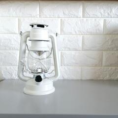 ランタン BRUNO ブルーノ LED ランプ ライト キャンプ アウトドア インテリア 電池式 防災 おしゃれ | BRUNO(その他ライト、ランタン)を使ったクチコミ「.。*♡LEDランタン♡*。.  防災用…」