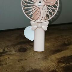 ハンディファン/ハンディ扇風機/動物モチーフ/動物モチーフグッズ/簡単/雑貨/... もうすぐ暑い日々がやってきます!! すぐ…