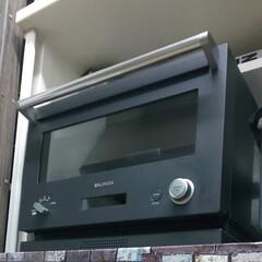 バルミューダ ザ レンジ 18L BALMUDA The Range フラット庫内オーブンレンジ K04A-BK | BALMUDA The Range(電子レンジ)を使ったクチコミ「炊飯器に続いて故障してしまった オーブン…」