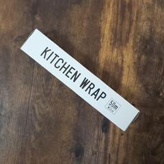 ミニサランラップ/サランラップ/セリア/キッチン雑貨/雑貨/おしゃれ/... サランラップってなぜか カラフルな箱です…