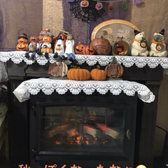 季節ものコーナー/ハロウィン飾り お月見🌕飾りを片付けて季節コーナーハロウ…(2枚目)