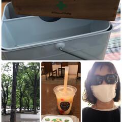 眼鏡の上👓からかけられるサングラス🕶/安倍のマスク改造型/salut❣️ 安倍のマスクのアレンジマスク、眼鏡の👓上…