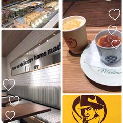 お一人様カフェ 午前中、横浜そごうに久しぶりに行ったらビ…