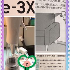 イースリーエックスe-3X/水道水を分解して消毒除菌液をつくる とにかく我が家は家具が多い物が多い敷物が…
