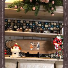 正月飾りつけ/お正月飾り付け 777回目の投稿になります、飾り棚には一…(1枚目)