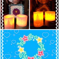 クリスマスLEDキャンドル ヤマダ電機でおつとめ品コーナーでLEDク…