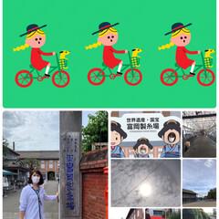 世界遺産富岡製糸場 雨のはずが晴れ間があって暑い😵 晴れ女全…