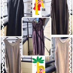 ファッション/ノースリーブワンピースをジャンバー.../春夏コーデ 暑くなった春夏は麻入りノースリーブワンピ…