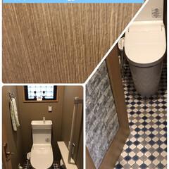 1階階トイレリフォーム🚽 1階トイレリフォーム、主人用のトイレなの…(1枚目)