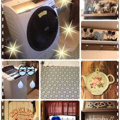 我が家の特別定額給付金10万の使い方/洗面所/ドラム式乾燥機付き洗濯機 特別定額給付金10万×3人、エアコン3台…