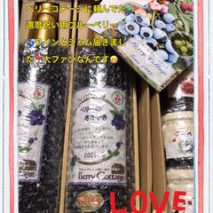 ❣️ブルーベリーワイン/ブルーベリー糖類ゼロのジャム/青梅市ベリーコテージのファン kazumiさんが働いている青梅市のベリ…(1枚目)
