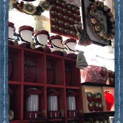 苺🍓飾りコーナー 私の苺🍓のインテリアコーナー、クリスマス…(1枚目)