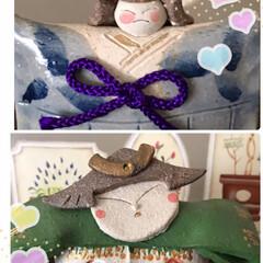 焼き物ミニ五月人形 我が家の五月人形のミニさん達は焼き物です…