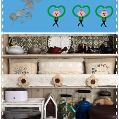 テーマで変わるリビング飾り棚/お茶道具 最後は7月のリビングの飾り棚はこれにしま…