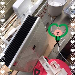 加湿器空気清浄機掃除 本日は変な天気ですが体にスイッチ入って白…