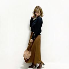 プチプラ/プチプラコーデ/ママライフ/30代ファッション/30代コーデ/30代/... #590円スカート  @gu_globa…