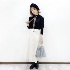 しまむら/ファッション #serinaのスカーフアレンジ  @g…