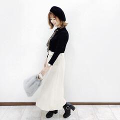 しまむら/ファッション #serinaのスカーフアレンジ  @g…(2枚目)