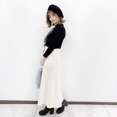 しまむら/ファッション #serinaのスカーフアレンジ  @g…(3枚目)