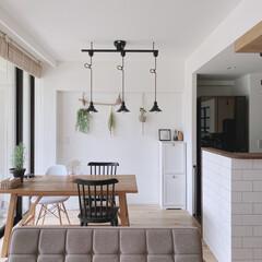 自室/レイアウト/マイホーム/リビング/キッチン/IKEA/... 窓が高くて晴れた日は日差しがよく入ります…