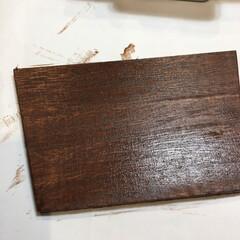 エクステリアカラー ブラウン  水性着色剤 ウッドアトリエ   和信ペイント(Washi Paint)(ニス、ステイン)を使ったクチコミ「LIMIA 和信ペイントモニターに当選し…」(6枚目)