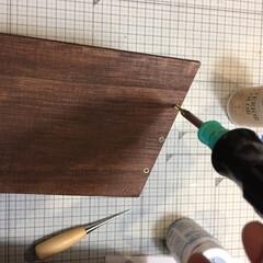 エクステリアカラー ブラウン  水性着色剤 ウッドアトリエ   和信ペイント(Washi Paint)(ニス、ステイン)を使ったクチコミ「LIMIA 和信ペイントモニターに当選し…」(8枚目)