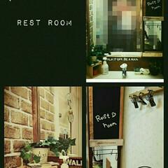 黒板シート/コルク/グリーン/DIY/雑貨/100均/... 普通のマンションの洗面所をリメイク❤