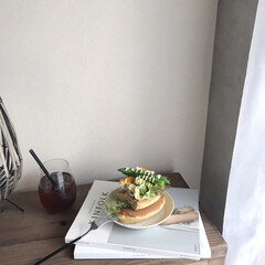 Cutipol クチポール GOA Black ゴア ブラック Dinner fork ディナーフォーク | クチポール(フォーク)を使ったクチコミ「▥▥ 𝚖𝚘𝚛𝚗𝚒𝚗𝚐 𝚙𝚕𝚊𝚝𝚎 ▥▥ …」