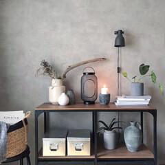 癒しグッズ/見せる収納/IKEA/キャンドル/観葉植物/フラワーベース/... ▥▥ 𝚌𝚊𝚗𝚍𝚕𝚎 ▥▥  たまには𝑐𝑎…