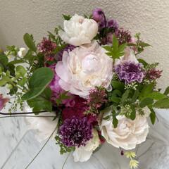 花束/母の日のプレゼント インスタで、💕素敵なお花やさん💐を見つけ…