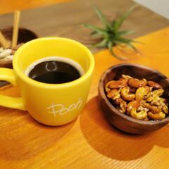 おうちごはん/レシピ/料理/簡単/簡単レシピ/ナッツ/... 「ナッツのキャラメリゼ」 最近よく作る夜…