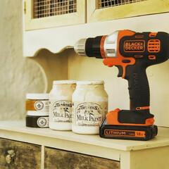 ミルクペイント 4ペンキ DIY 塗装 塗る ペイント 家具 大工 色付け 50mL ターナー | ターナー(ペンキ、塗料)を使ったクチコミ「YouTubeチャンネルを開設しました🎥…」