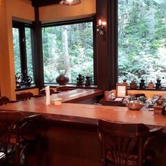 旦那とドライブ/ニングルテラス/優しい時間/森の時計/富良野 カフェ「森の時計」です。 希望すると自分…