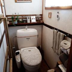 介護用品/トイレ収納/トイレ 我が家のトイレです。現在義母の介護中です…